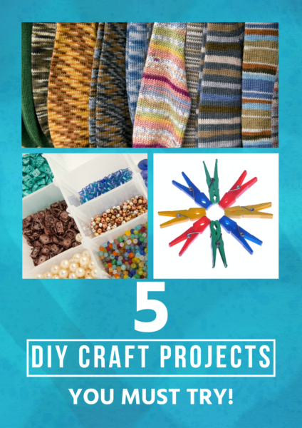 Looking for some cool craft projects to make on your own, with your teen or tween, or with a scout troop or church group? These 5 amazing creations don't require any particular skills and some make use of items you already have around the house, such as old socks!