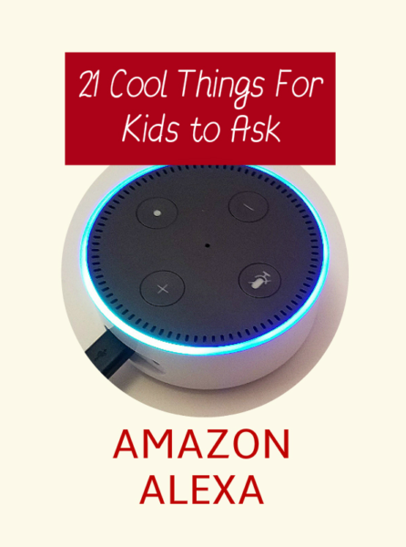Grown-ups aren't the only ones who get a kick out of using the amazing Amazon Alexa technology available on Echo and Echo Dot devices! Kids can learn and have fun with Alexa, too!