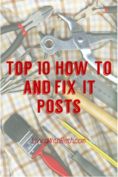 Think you can't fix it yourself or do it yourself? You probably can, even if you have no handyman or handywoman skills. If I can do it, you can do it!