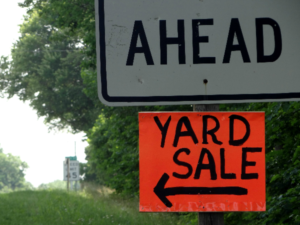 That old stand-by, the yard sale or garage sale, is one of the worst possible ways to sell your stuff if you actually want to make some money. Here's why.