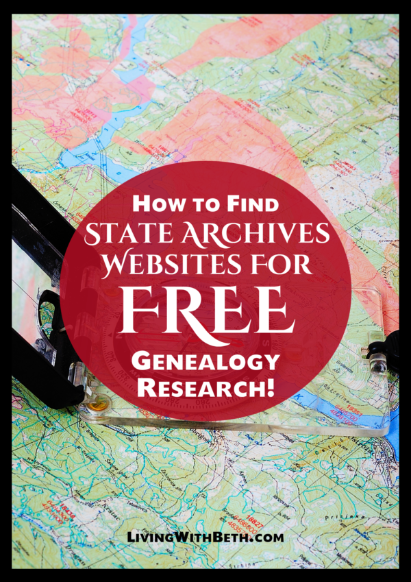 State archives and historical societies can provide useful and free information for researching your genealogy. Here's a list of state archives websites.