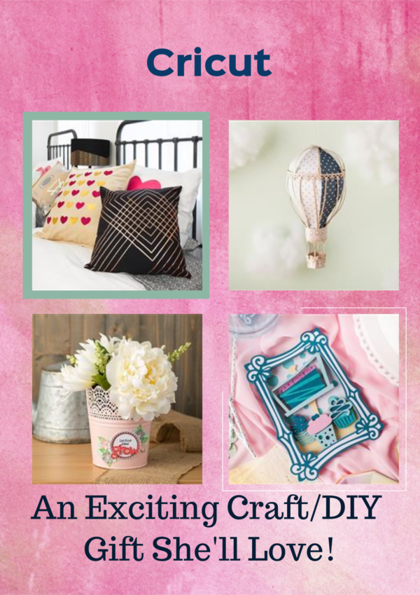 Check out some of the amazingly creative crafts and DIY projects you can make with a Cricut precision cutting machine and supplies!