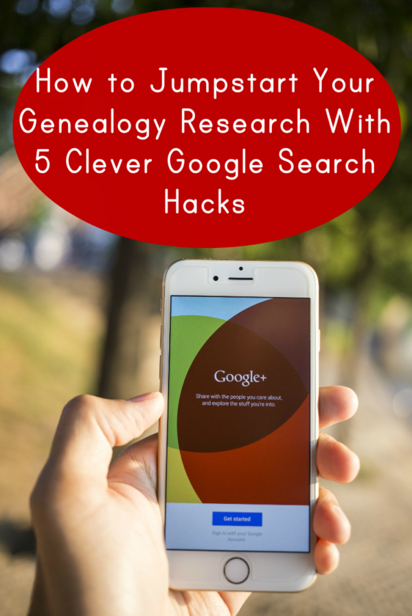 Google knows a lot about your ancestors if you know how to search for it. These 5 tips will help you get the most out of your Google genealogy research.