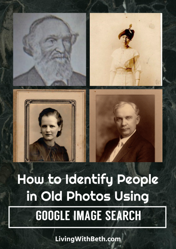Among Google's many free tools is their image search platform. It might help you figure out who is in some of your old, unlabeled photos.