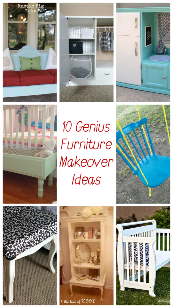 I've curated this list of the best furniture upcycling projects so you can give new life to that old baby crib, dresser, headboard, cabinet, or chair.