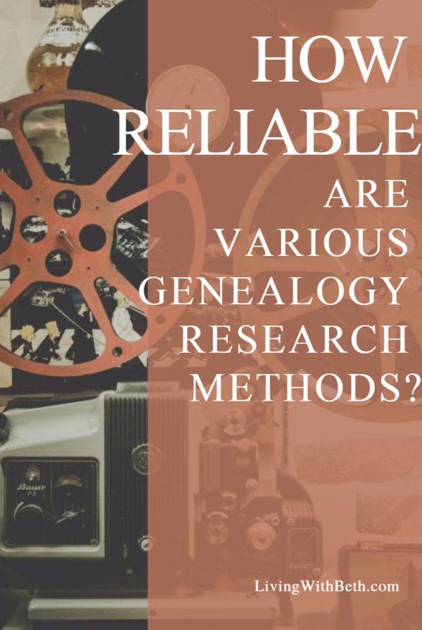 One of the challenges of genealogy research is making sure that your information is accurate. How do you know whether a source is reliable?
