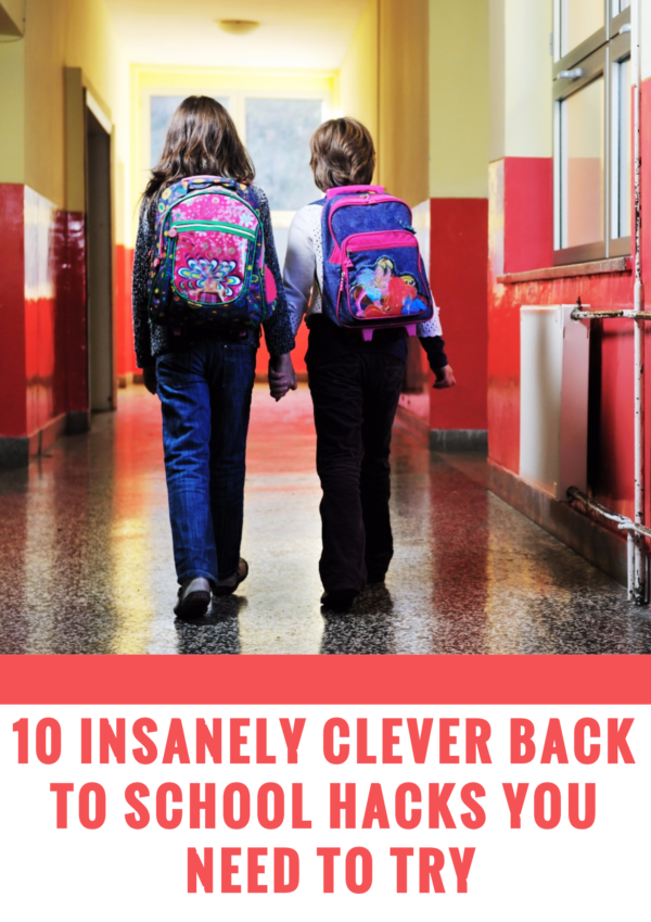 I've compiled a list of 10 amazingly useful back to school hacks to help parents and kids glide through back to school with ease.