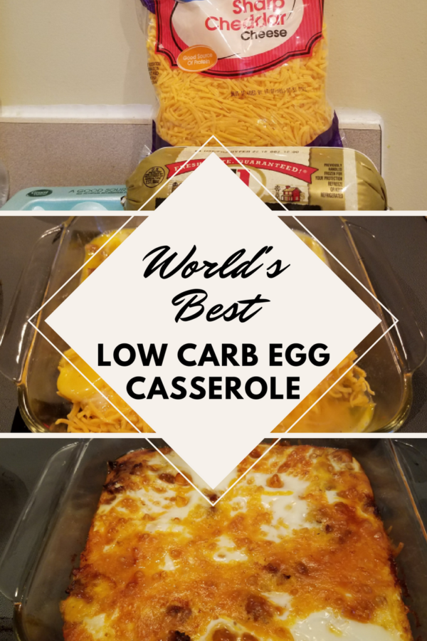 Get ready for the world's best (and easiest) low carb egg casserole!