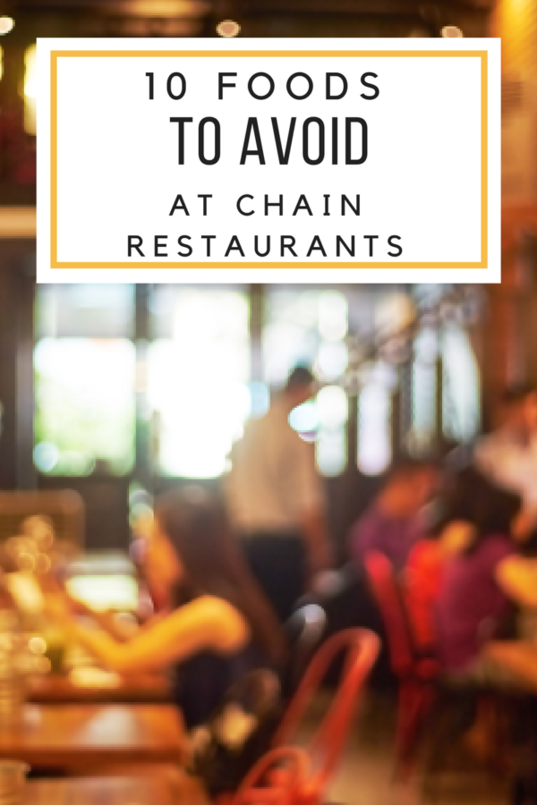 Current and former workers at chain restaurants have spilled the beans! This post will list the top 10 foods you shouldn't eat at chain restaurants. I'll let you in on some secrets that restaurants don't want you to know.
