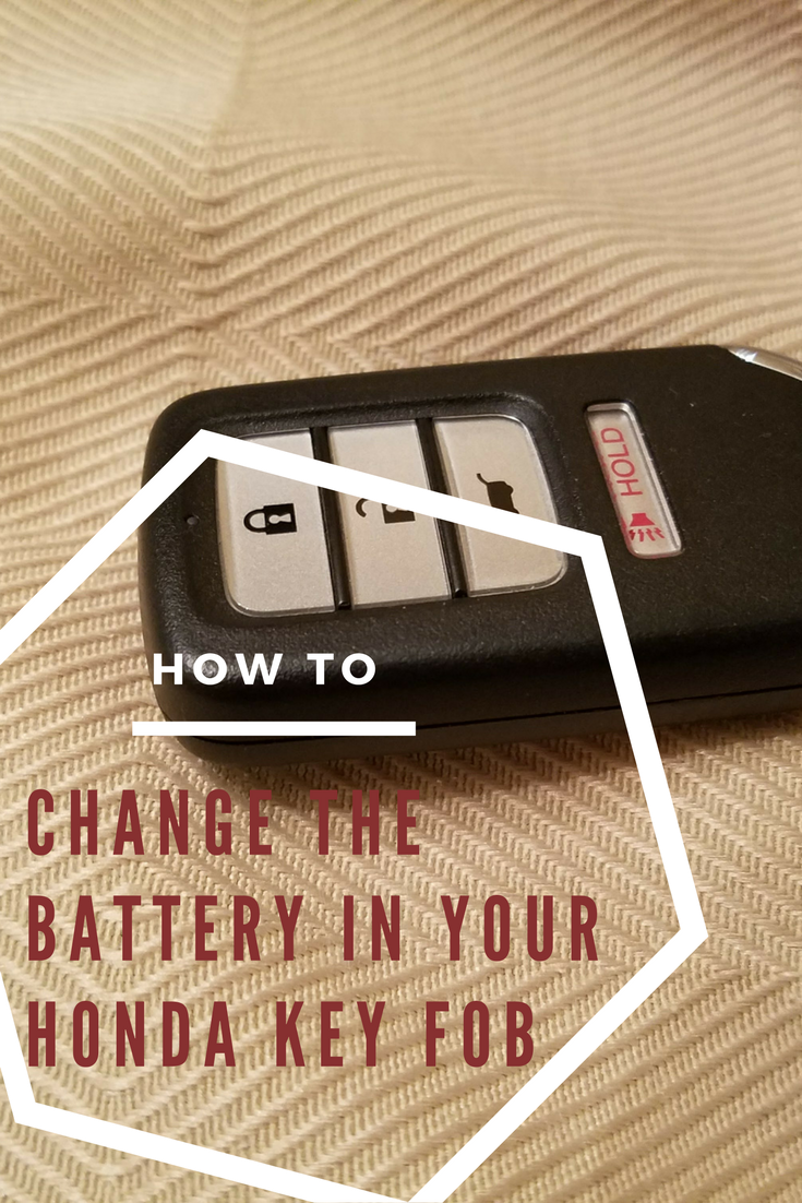 How To Replace Your Honda Key Fob Battery Cr V Civic