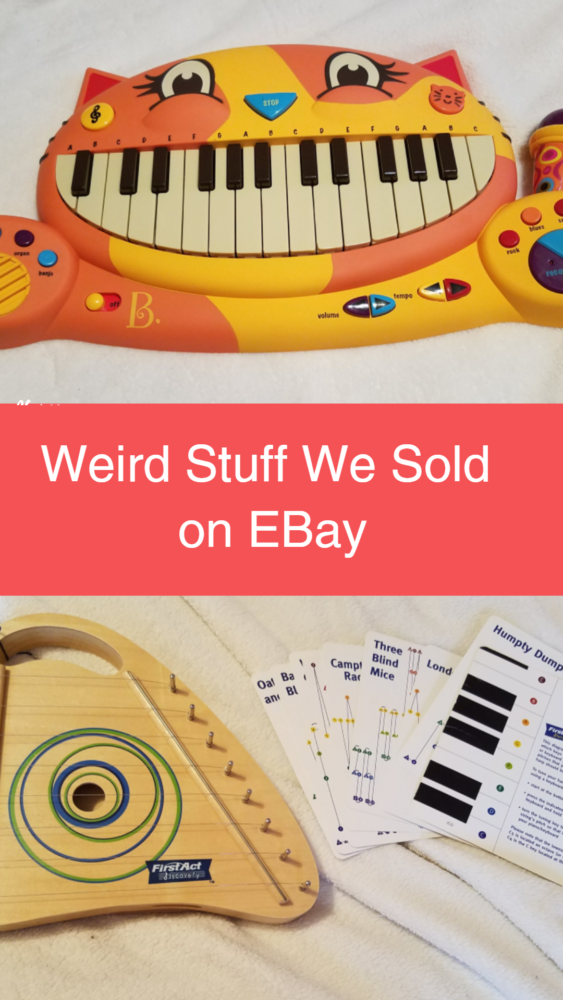 In this post, I'm sharing a video about some of the stranger stuff we sold on eBay recently. Everything came from drawers, closets and bins around my house.