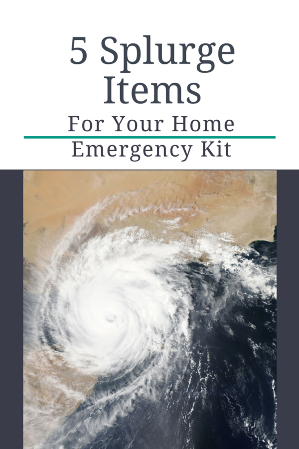 You'll find tons of information on the internet about items you should keep in a basic home emergency kit, but here are some items that probably aren't on those other lists.