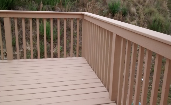 DIY Project: Repainting My Deck and Porch
