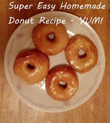 easy homemade donut recipe