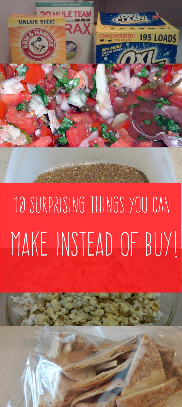 10 Surprising Things You Can Easily Make at Home Rather Than Buy