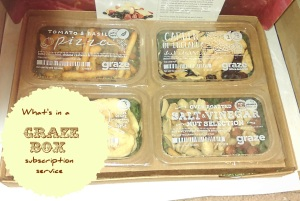 what's in a graze box