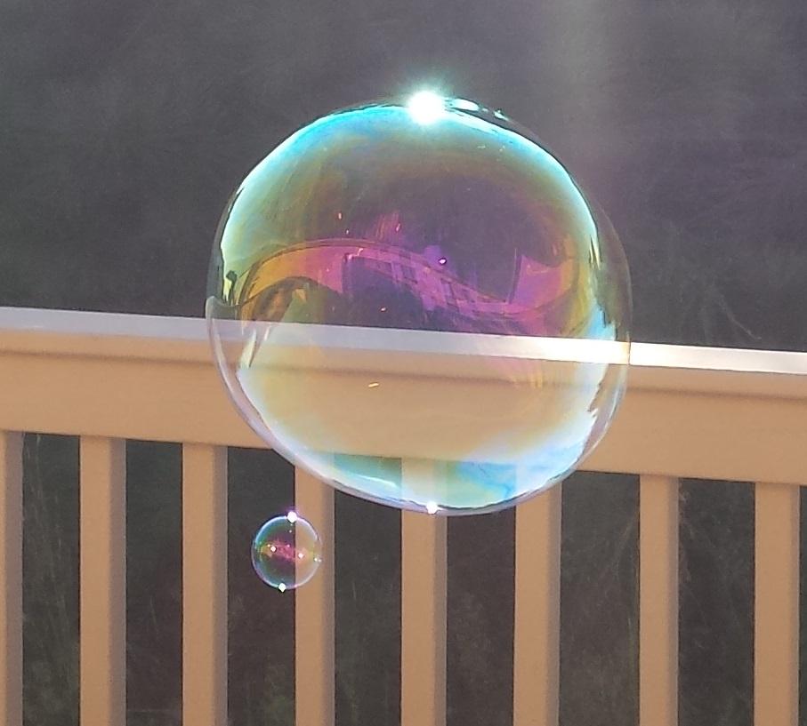 Homemade Juggle Bubbles solution recipe