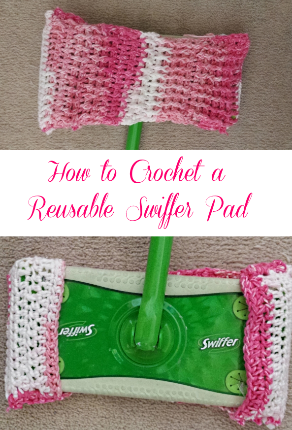 How to Crochet a Reusable Swiffer Pad