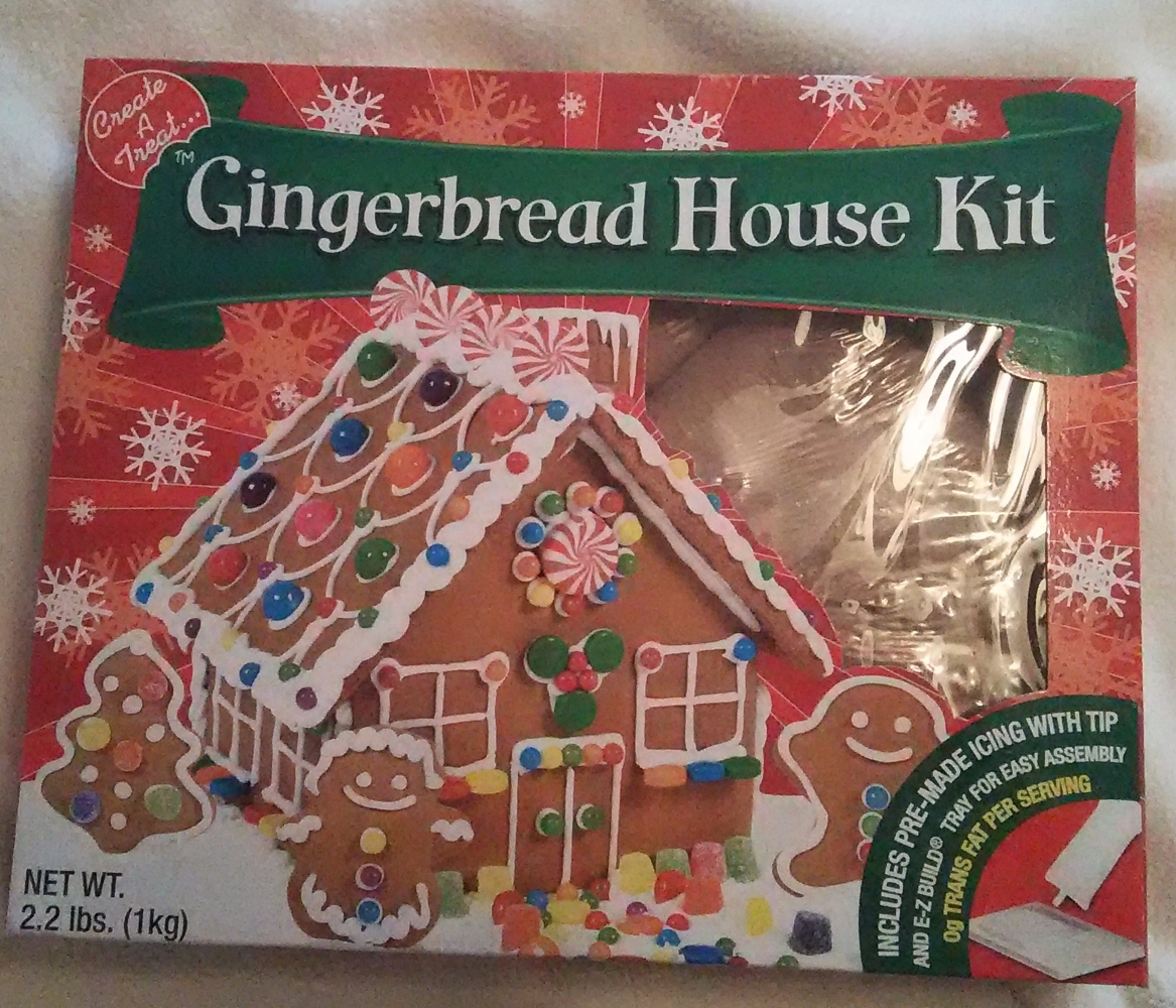 Gingerbread House Kit Review Fun Indoor Project For The Kids