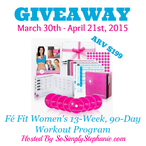 FeFit Blogger Opp Giveaway
