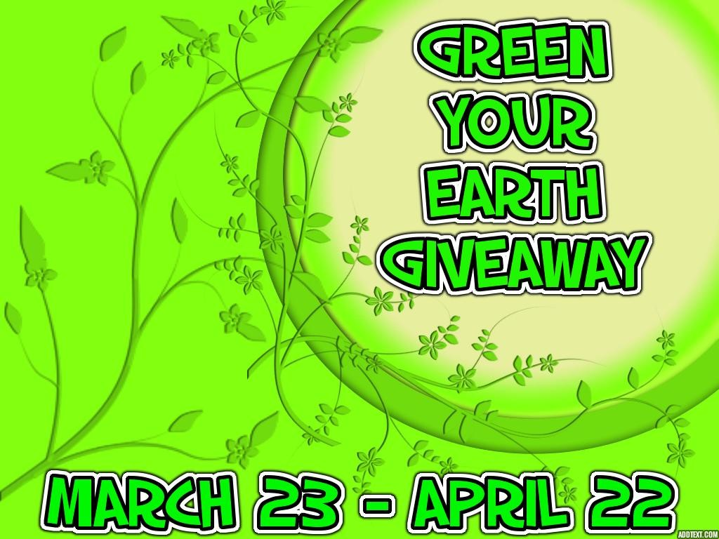 GREEN-YOUR-EARTH-GIVEAWAY