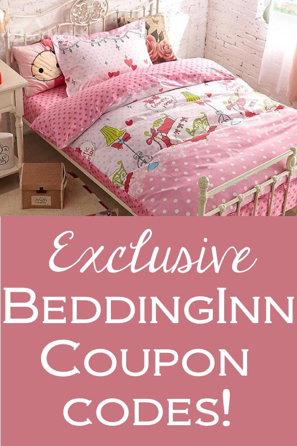 Exclusive BeddingInn coupon codes for unique home decor & much more