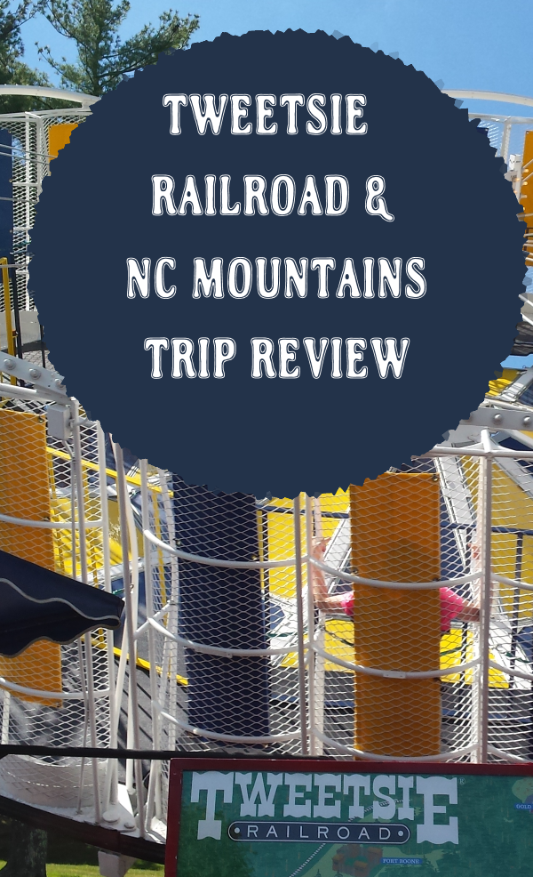 Our trip to the NC mountains and #Tweetsie Railroad amusement park #blueridgemountains