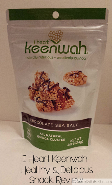 I Heart Keenwah review: Best healthy snack food ever