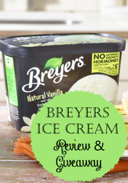 Breyers Ice Cream Review & Flash Giveaway