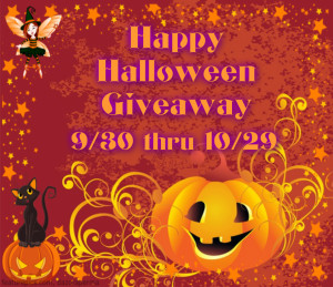 Happy Halloween Giveaway Ends 10/29 #HHG1015 @las930