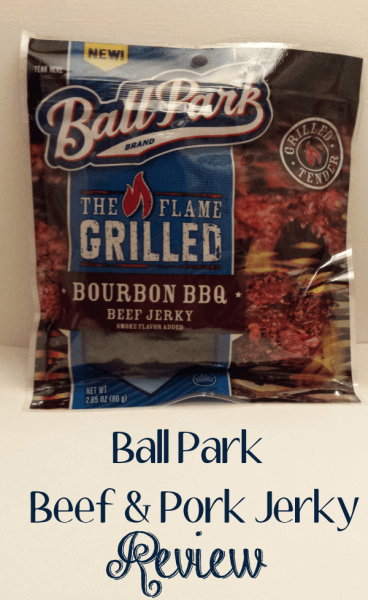 New Ball Park The Flame Grilled Pork and Beef Jerky Review