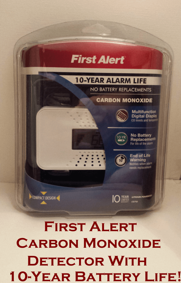 first alert carbon monoxide detector review 10year battery life