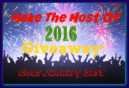 Make The Most Of 2016 Giveaway