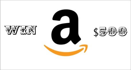 Amazon Blog Giveaway Ends 2/19: Win a $500 Gift Card!