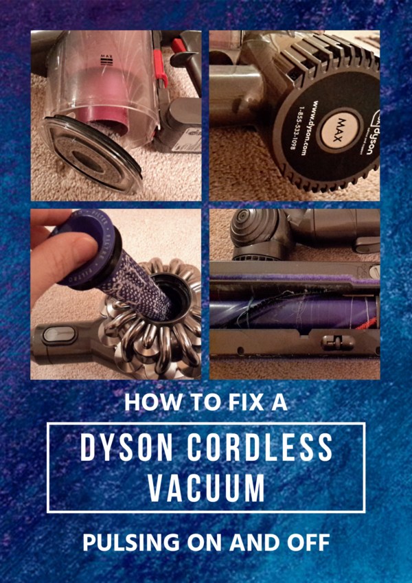 This post will help you fix your Dyson cordless vacuum that's pulsating on and off.
