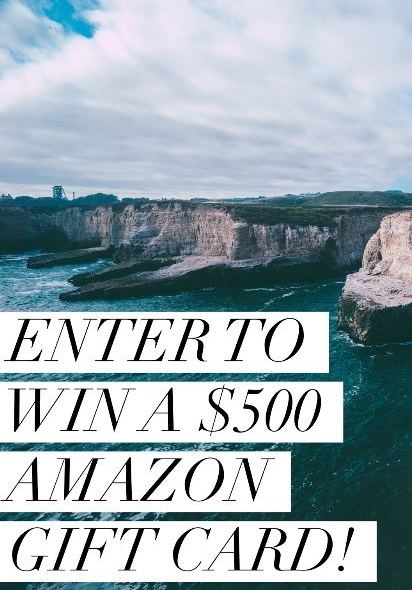 Win a $500 Amazon Gift Card Giveaway Ends 4/20