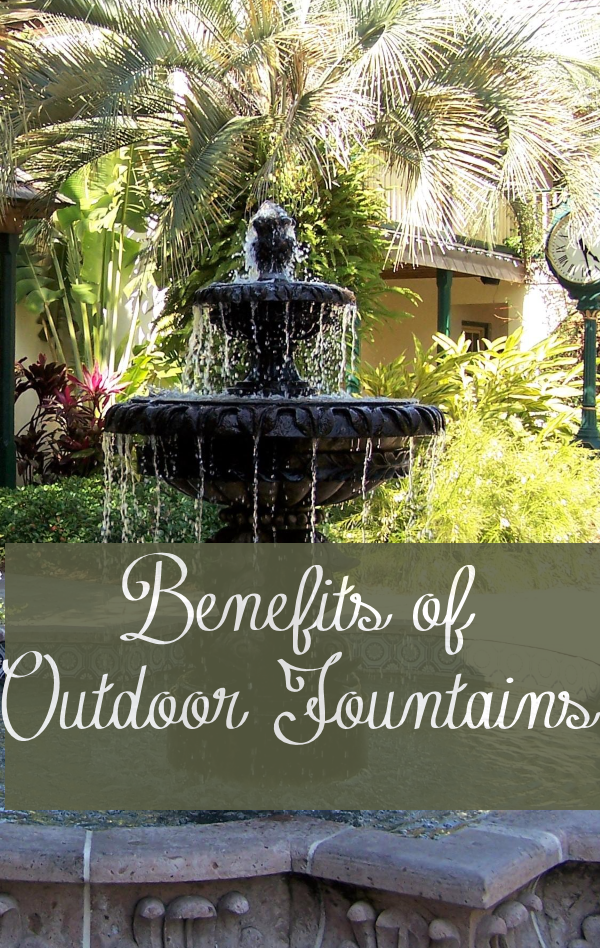 5 Health Benefits of Outdoor Water Fountains