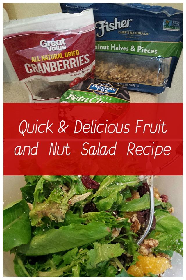 Quick and Delicious Fruit and Nut Salad Recipe