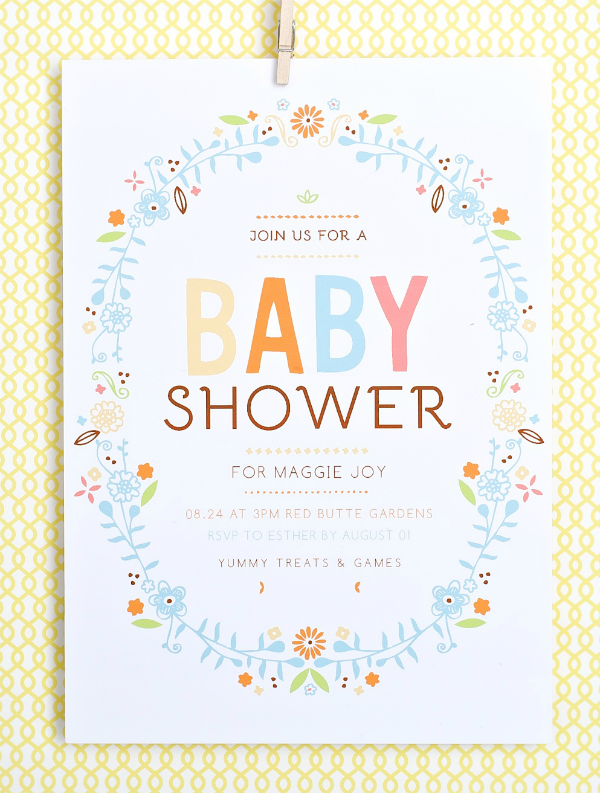 reasons to create custom baby shower invites
