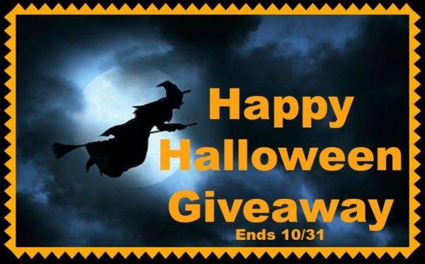 Happy Halloween Giveaway 2016 Ends 10/31