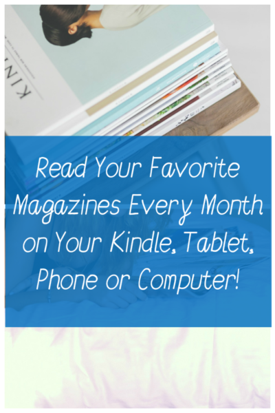 Kindle Unlimited Now Includes Popular Magazines