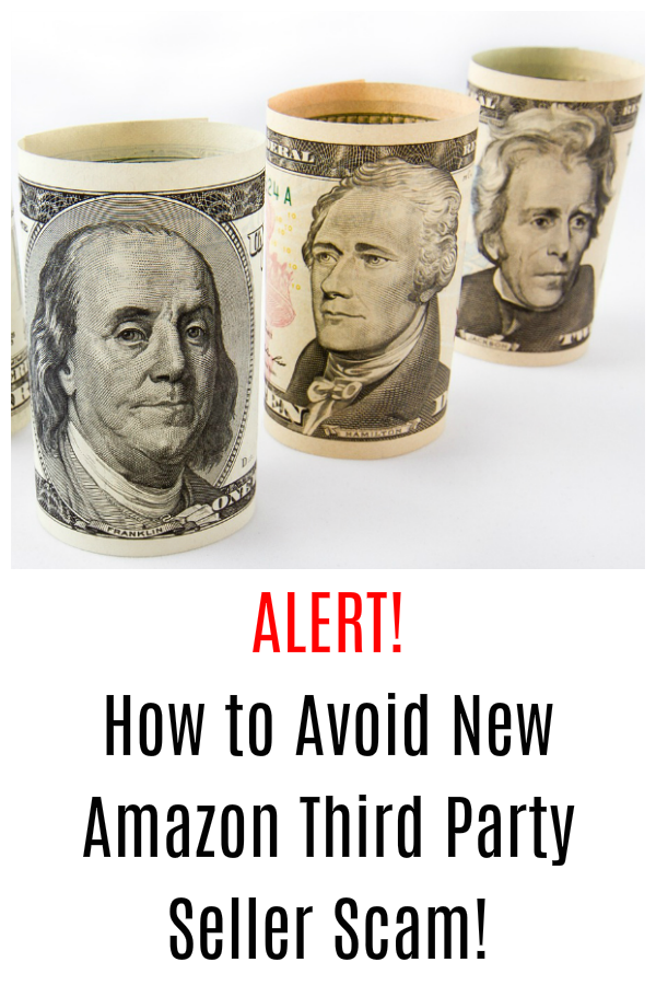 Beware of New Third Party Seller Scam on Amazon