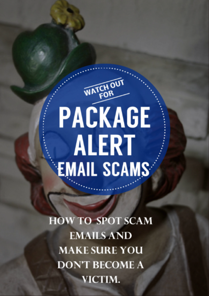 Watch Out For Fake Package Alert Shipping Scam Emails