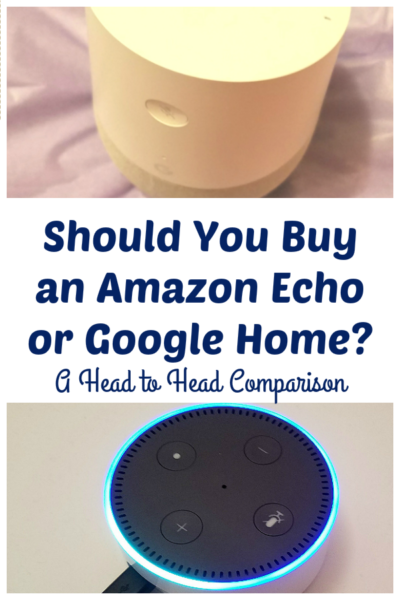 Thinking of buying an Amazon Echo or Google Home? Here's a side-by-side comparison to help you decide, based on capabilities and cost.