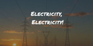 Monthly Cash Savings Challenge: Electricity, Electricity!