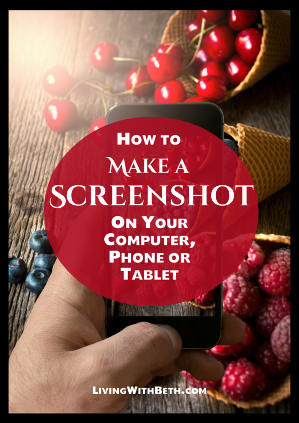 You might use a screenshot in a presentation, Word document or email when you want to show someone what's on your screen or create a demo of a process.