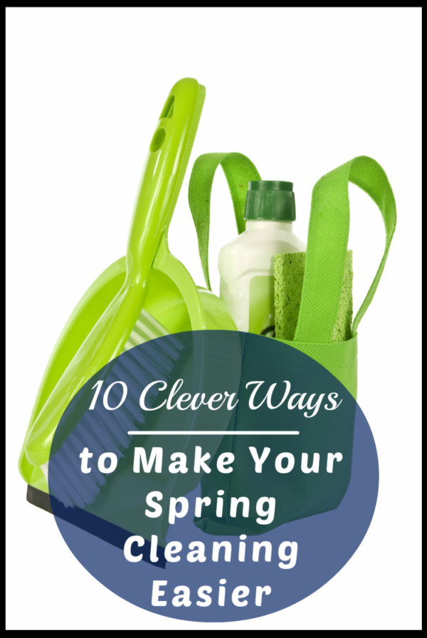 Looking for ways to tackle your spring cleaning without losing your mind? Try these 10 insanely clever cleaning hacks.