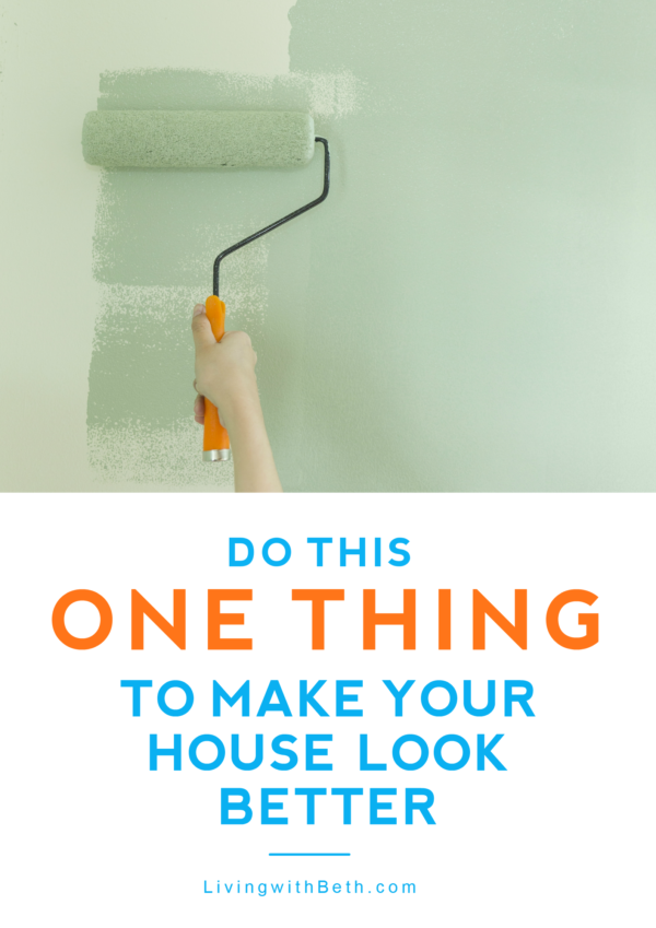 One of the best things you can do to make the inside of your home look better is touch-up the paint or repaint walls. Here's how to get started.