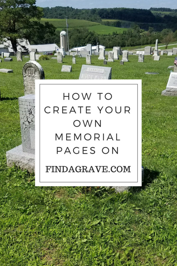 Can't find your deceased relative on Findagrave.com? Here's how to add your own memorial pages to the site, and help others in the process.