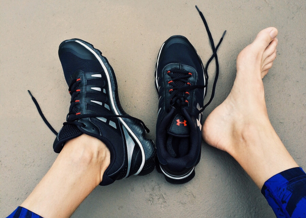 If you get out of bed and feel like you might have stepped on a nail or a shard of glass, you might have plantar fasciitis. Here's how to get some relief.